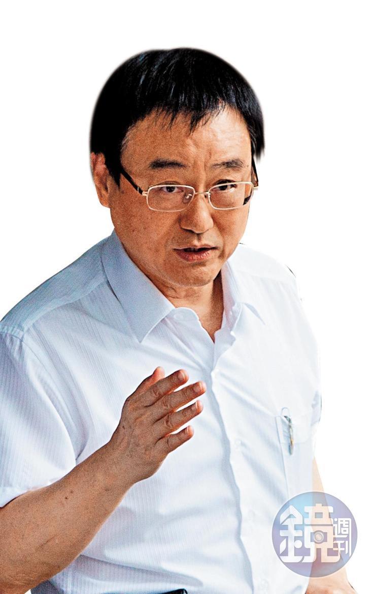 基泰建設賣屋及銷售分層負責,總經理馮先勉(圖)是否成為董座陳世銘遭控詐欺案的共犯,備受矚目。