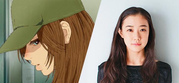 演員蒼井優(右)是《海獸之子》漫畫的鐵粉,爽快答應為女學生琉花的媽媽配音。( 甲上娛樂提供)