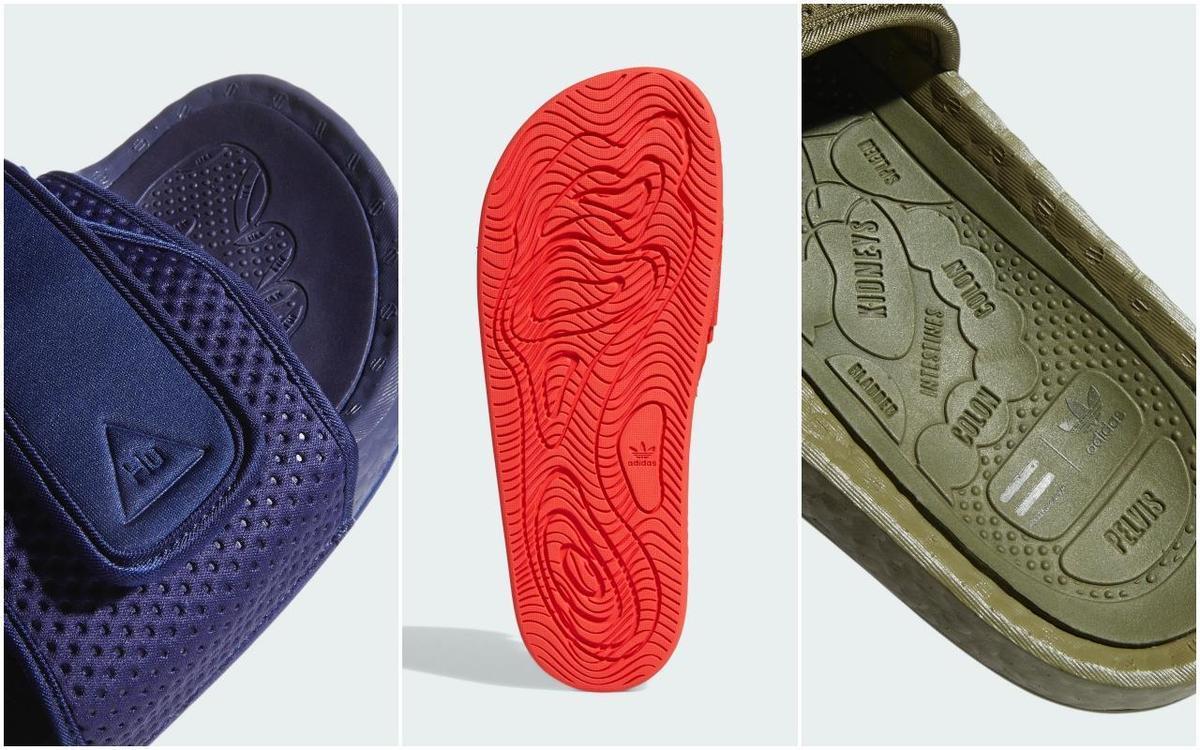 Pharrell Williams BOOST拖鞋。NT$3,690(adidas Originals提供)