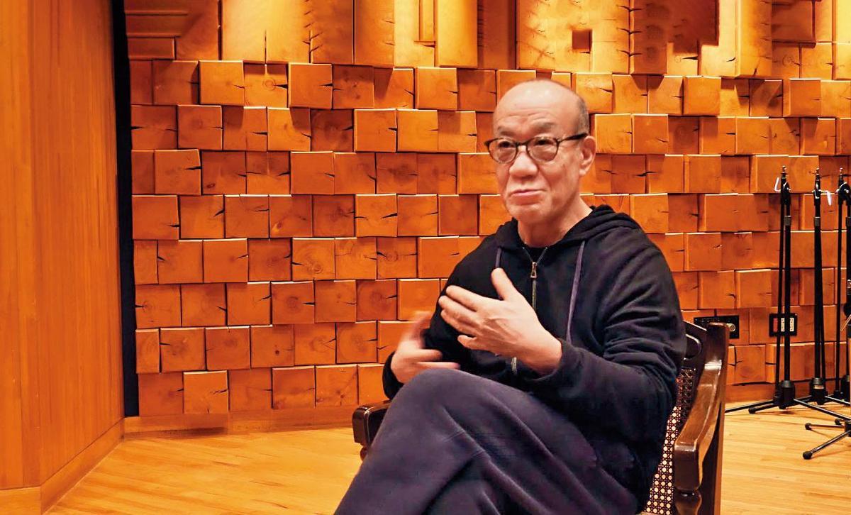 《海獸之子》製片田中榮子花了4年,才說服國寶級配樂家久石讓答應創作主題音樂。(翻攝自youtube_medialinkHK)