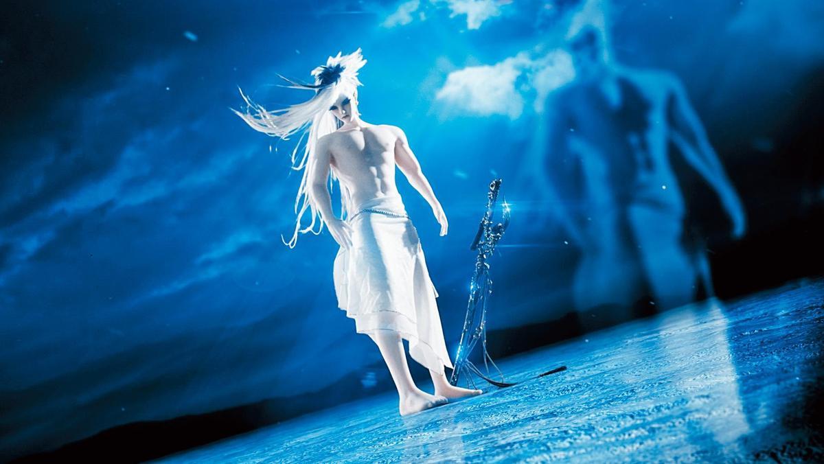 《刀說》突破傳統操偶技術,讓要角「花信風」裸身上陣。(霹靂國際提供)