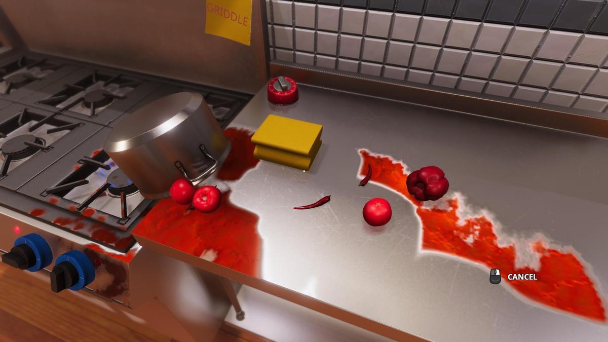 烹飪時把廚房弄得亂七八糟也是正常的(圖片來源:官方)