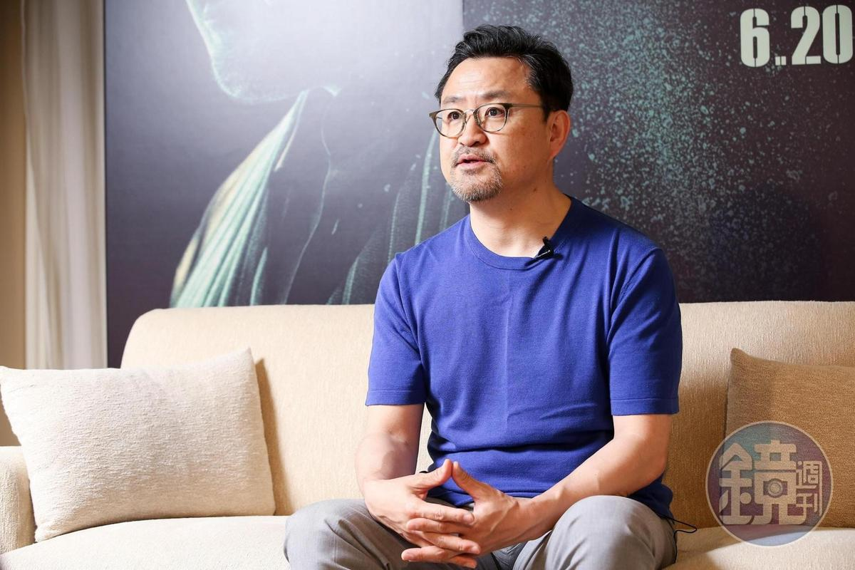 導演李元太與馬東石的交情源於10年前,透露他私下為維持身材滴酒不沾。