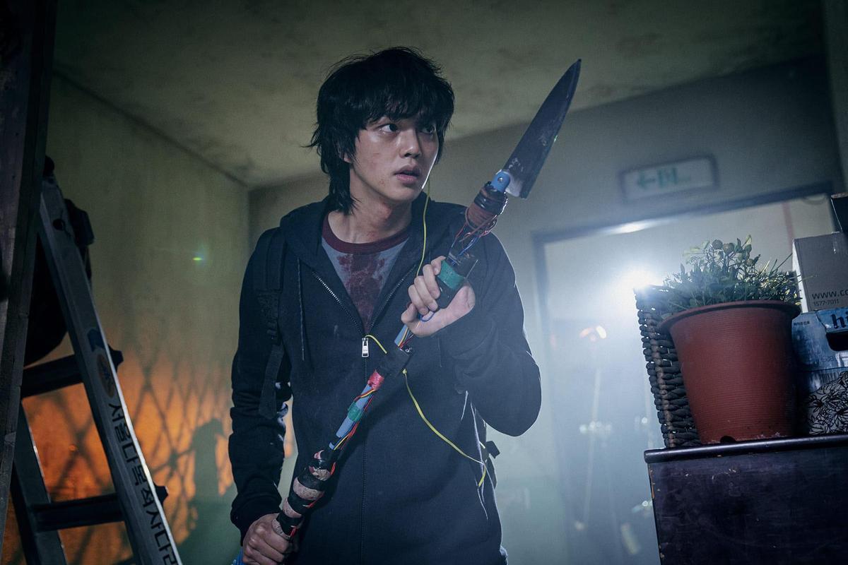 宋江將在Netflix原創韓劇《Sweet Home》飾演成為末日救命英雄的魯蛇男。(Netflix提供)