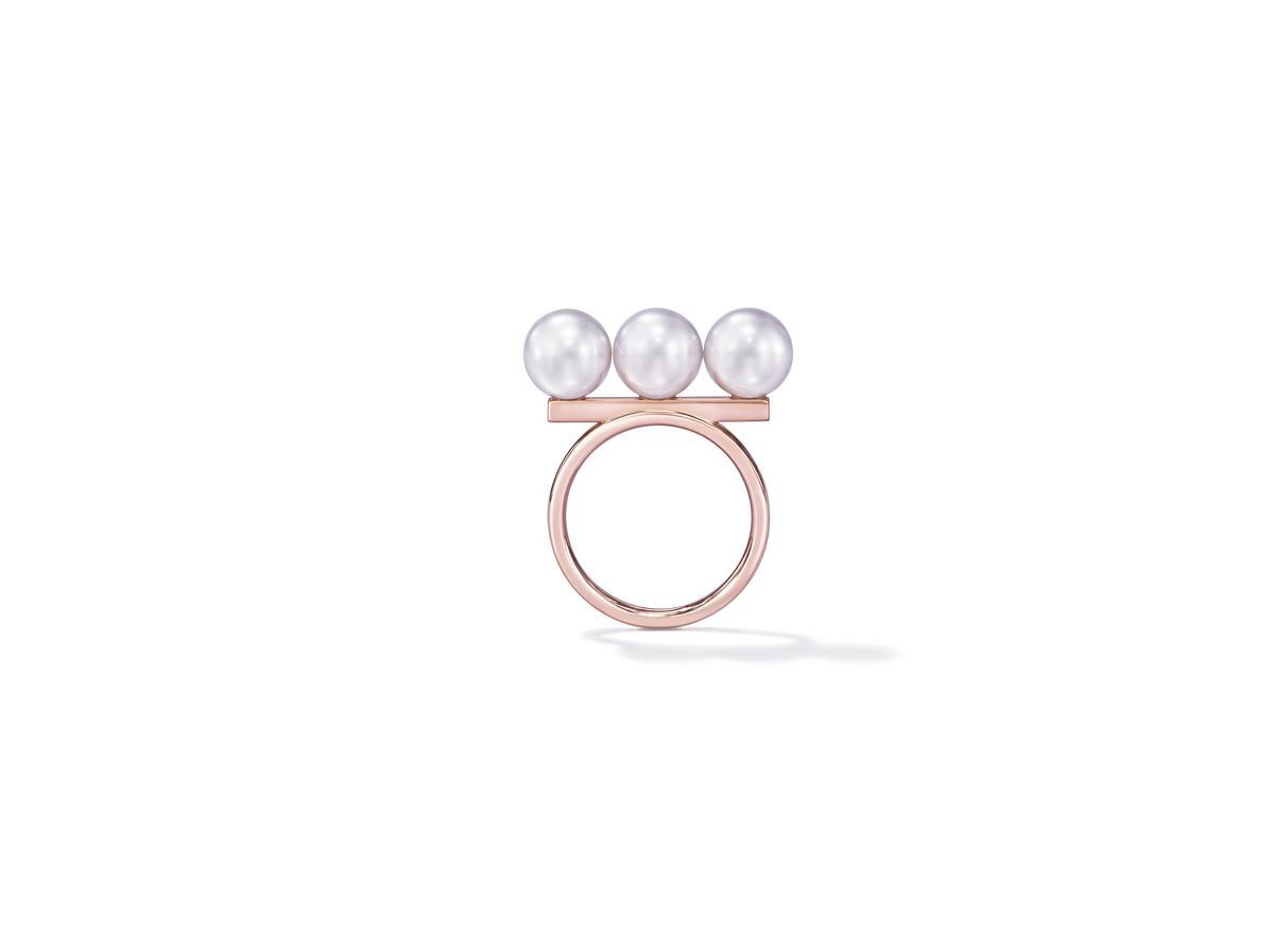 balance neo戒指。NT$83,900。(TASAKI提供)