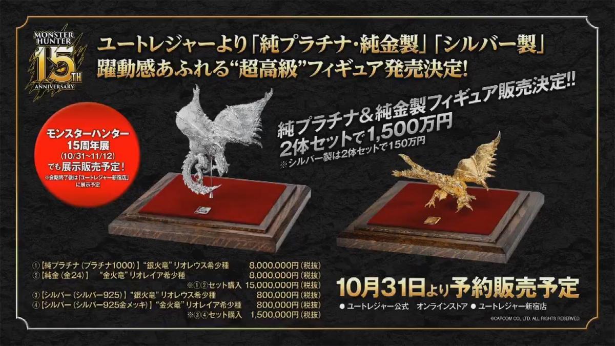 一組定價1500萬日圓、折合430萬新台幣的天價紀念周邊。(翻攝自MH_official_JP Twitter)