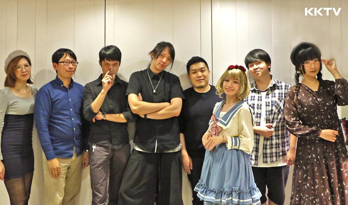 KKTV 邀請 9 位台灣動漫圈具代表性的 KOL。(KKTV 提供)