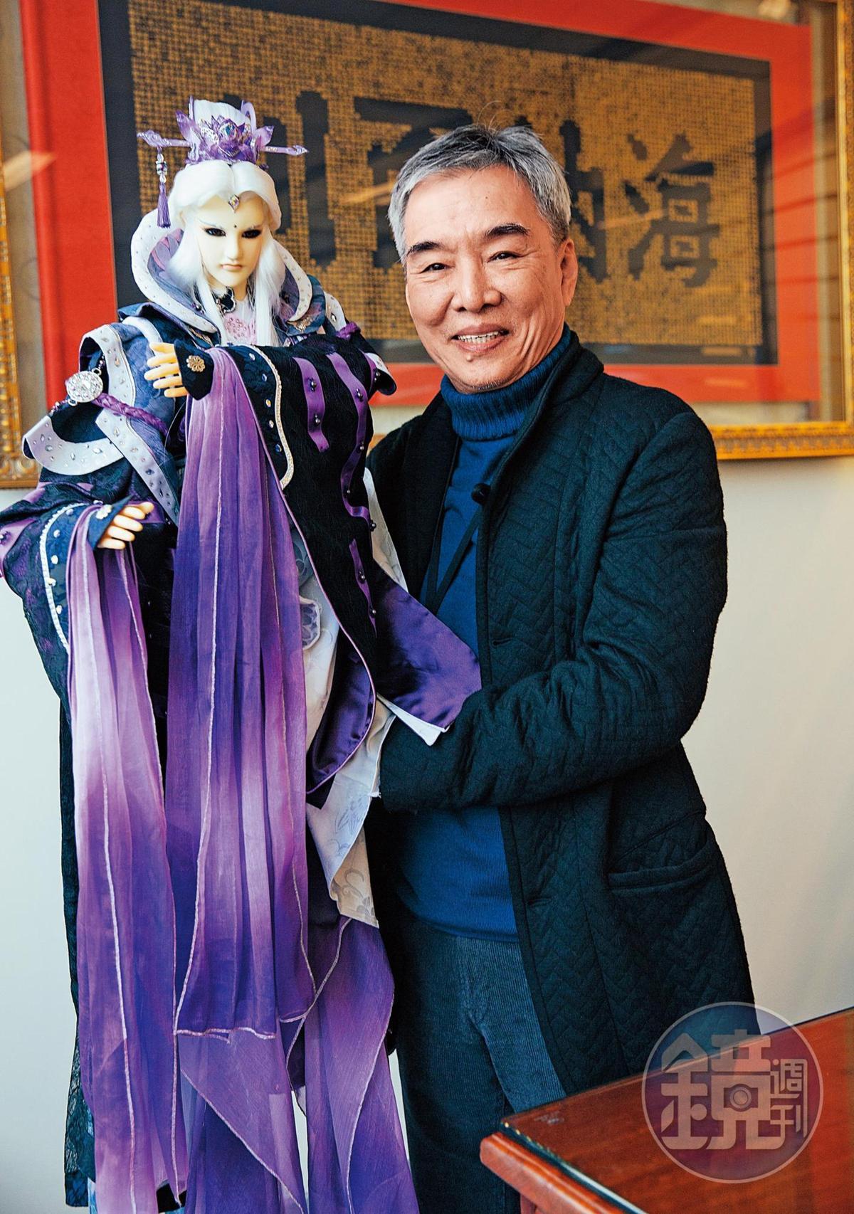 霹靂布袋戲在黃強華領導下,成為台灣具代表的文創IP品牌。
