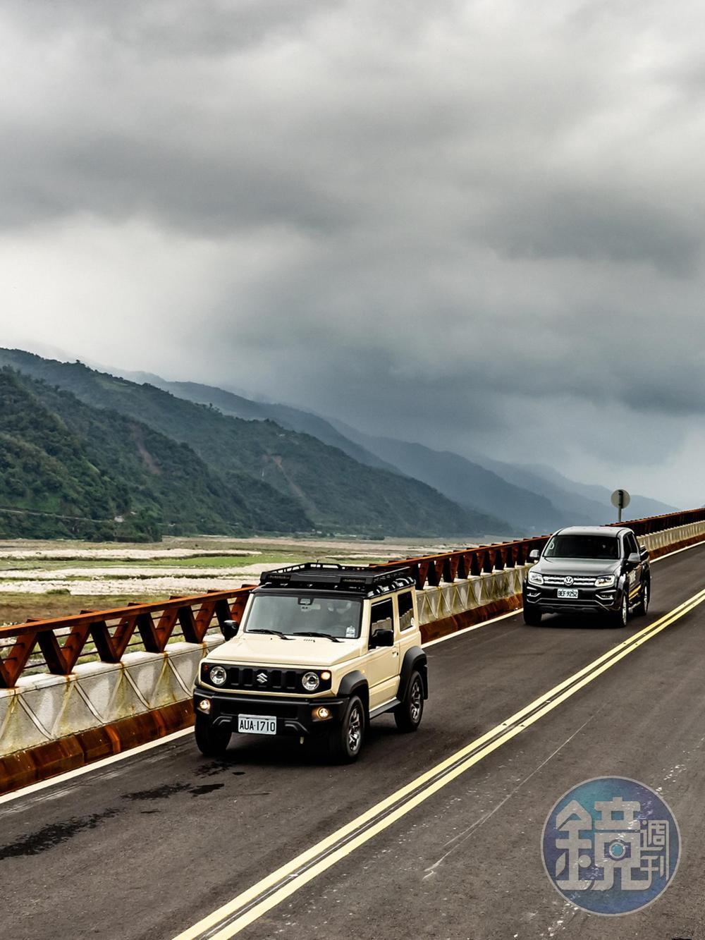 SUZUKI Jimny V.S. VOLKSWAGEN Amarok V6 3.0 TDI Highline