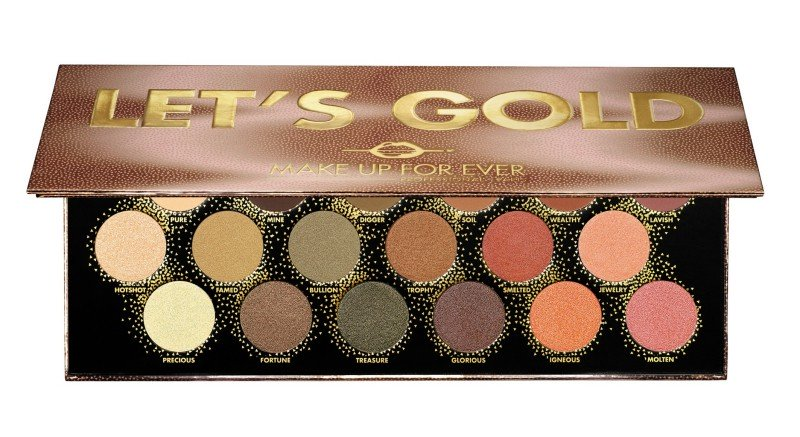 Make Up For Ever LET'S GOLD PALETTE