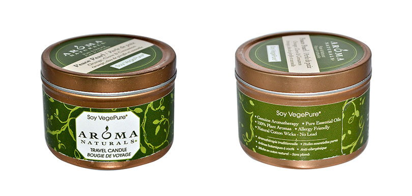 Aroma NaturalsScented Soy Candle -Peace Pearl