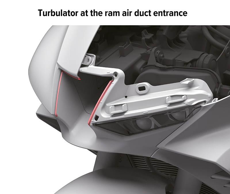 2020 HONDA CBR1000RR-R FIREBLADE Ram Air Duct
