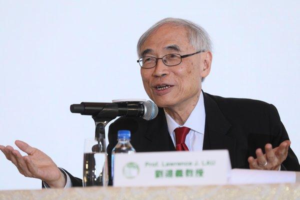 劉遵義教授按2019年「呂志和獎」獲獎者名單分享他們的主要成就。