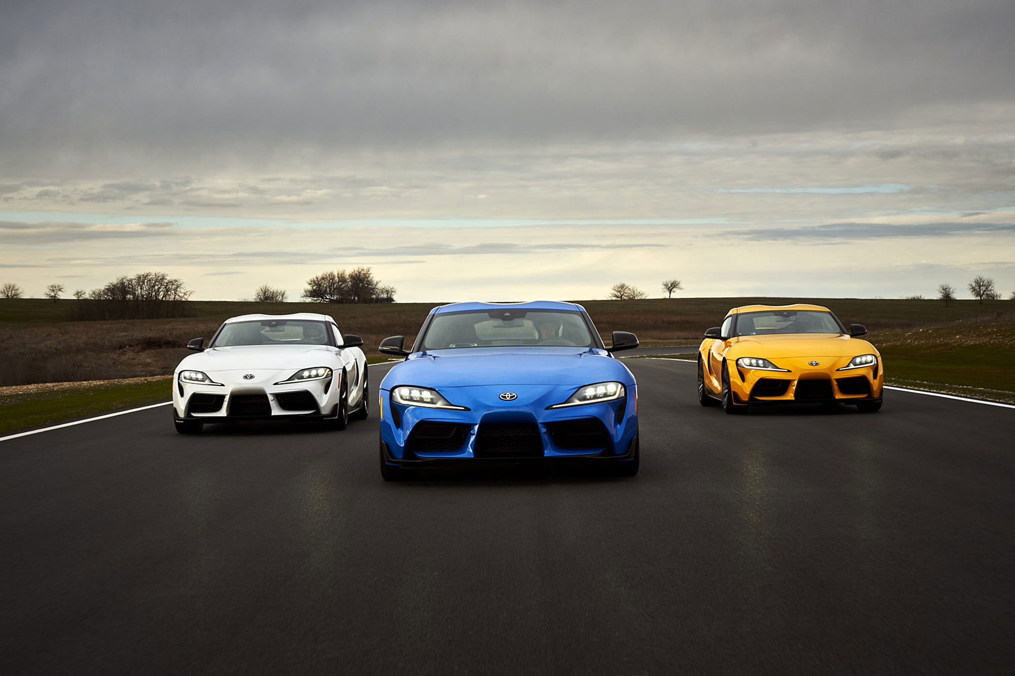 2021 年式美規 GR Supra 無論 3.0T 車型或者 2.0T 動力車型都有所升級。