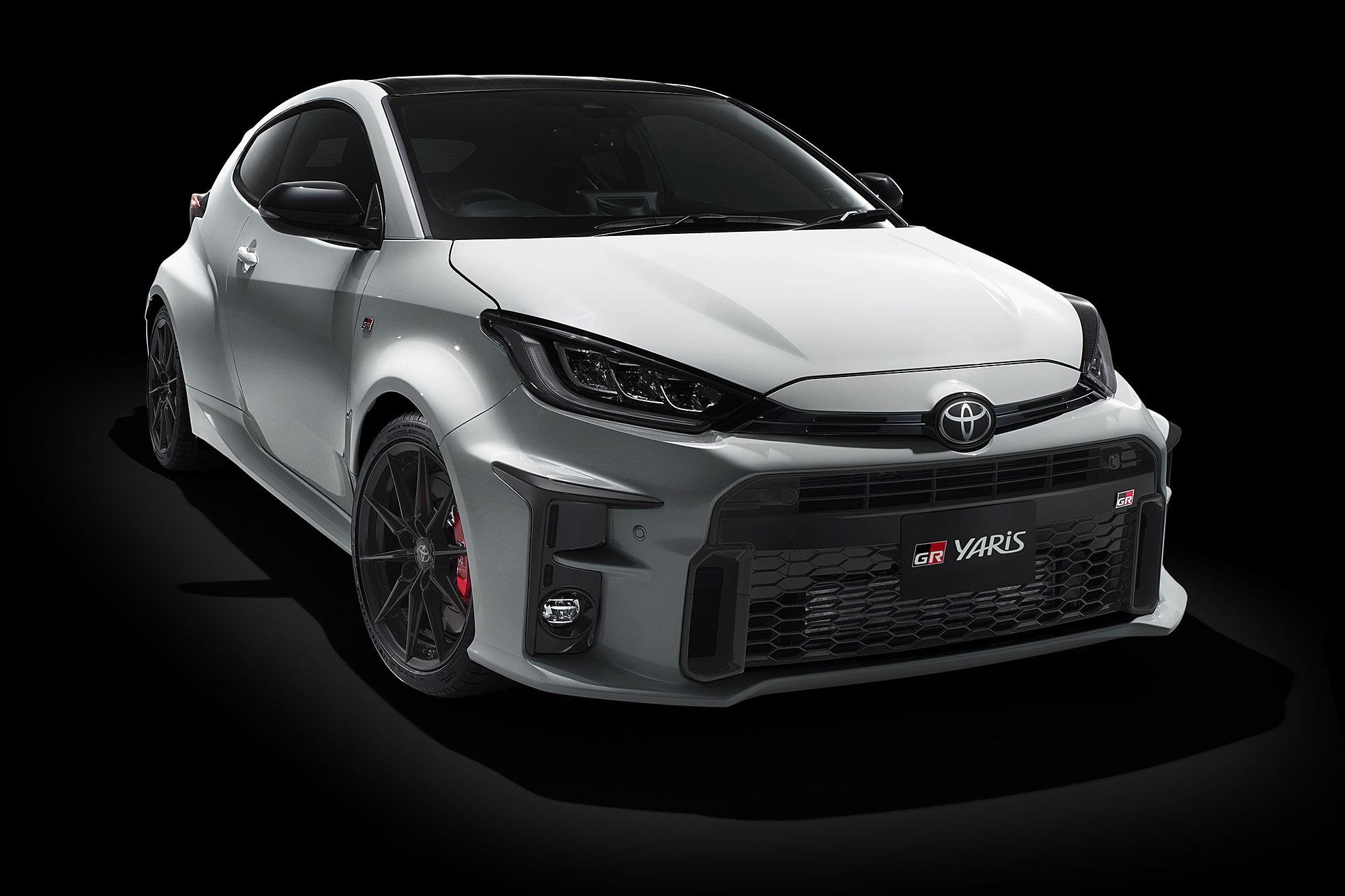 GR Yaris 於 2020 東京改裝車展首度曝光。