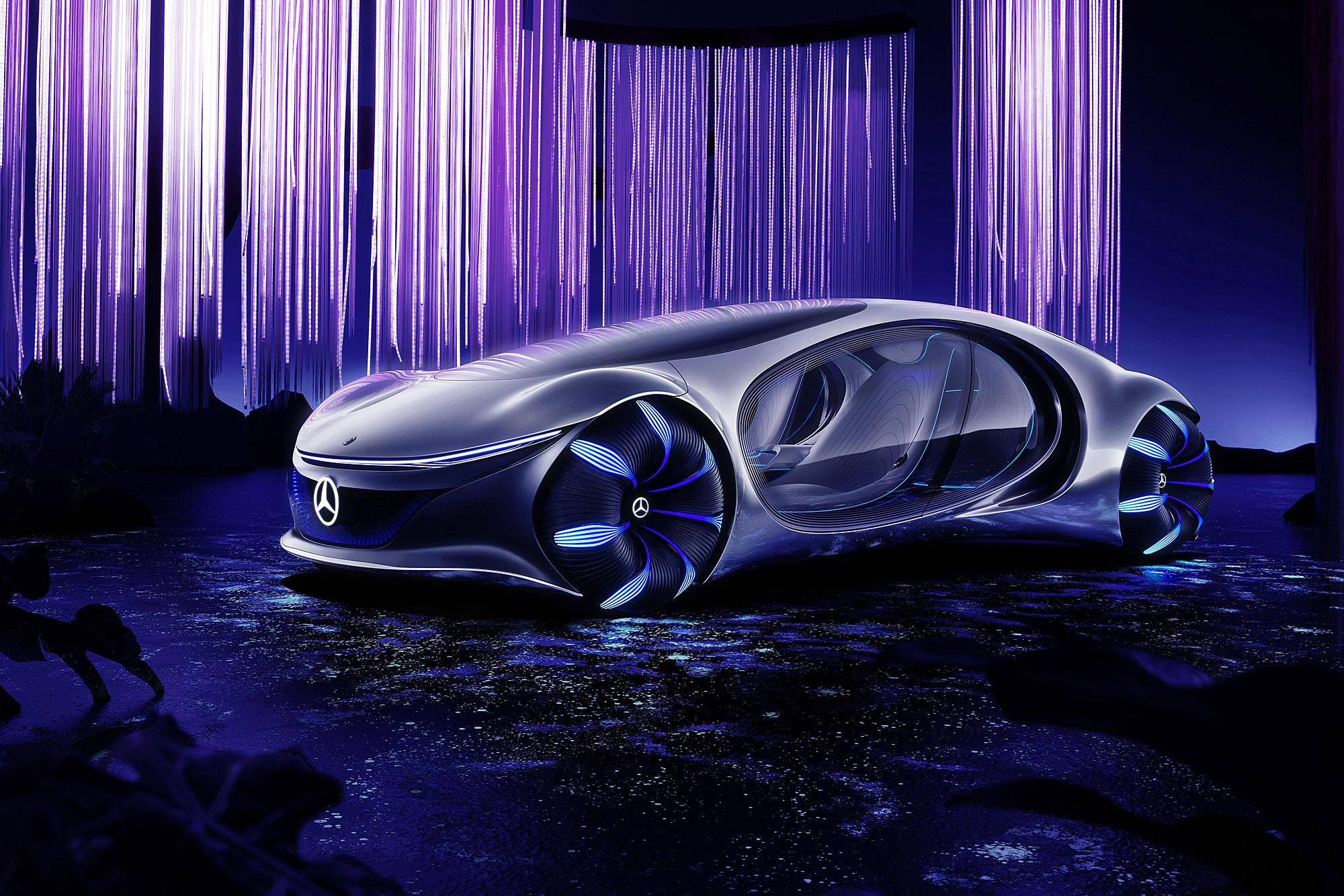 Vision AVTR 為 Mercedes-Benz 與 James Cameron 合作推出的概念作品。