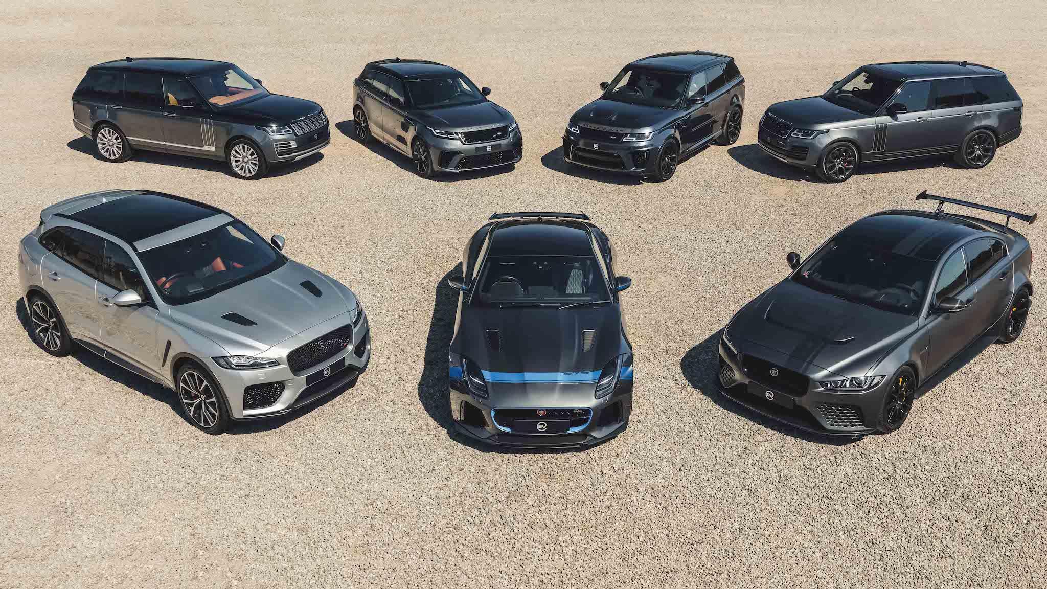 逆風高飛!Jaguar Land Rover SVO 頂級特製車越賣越好