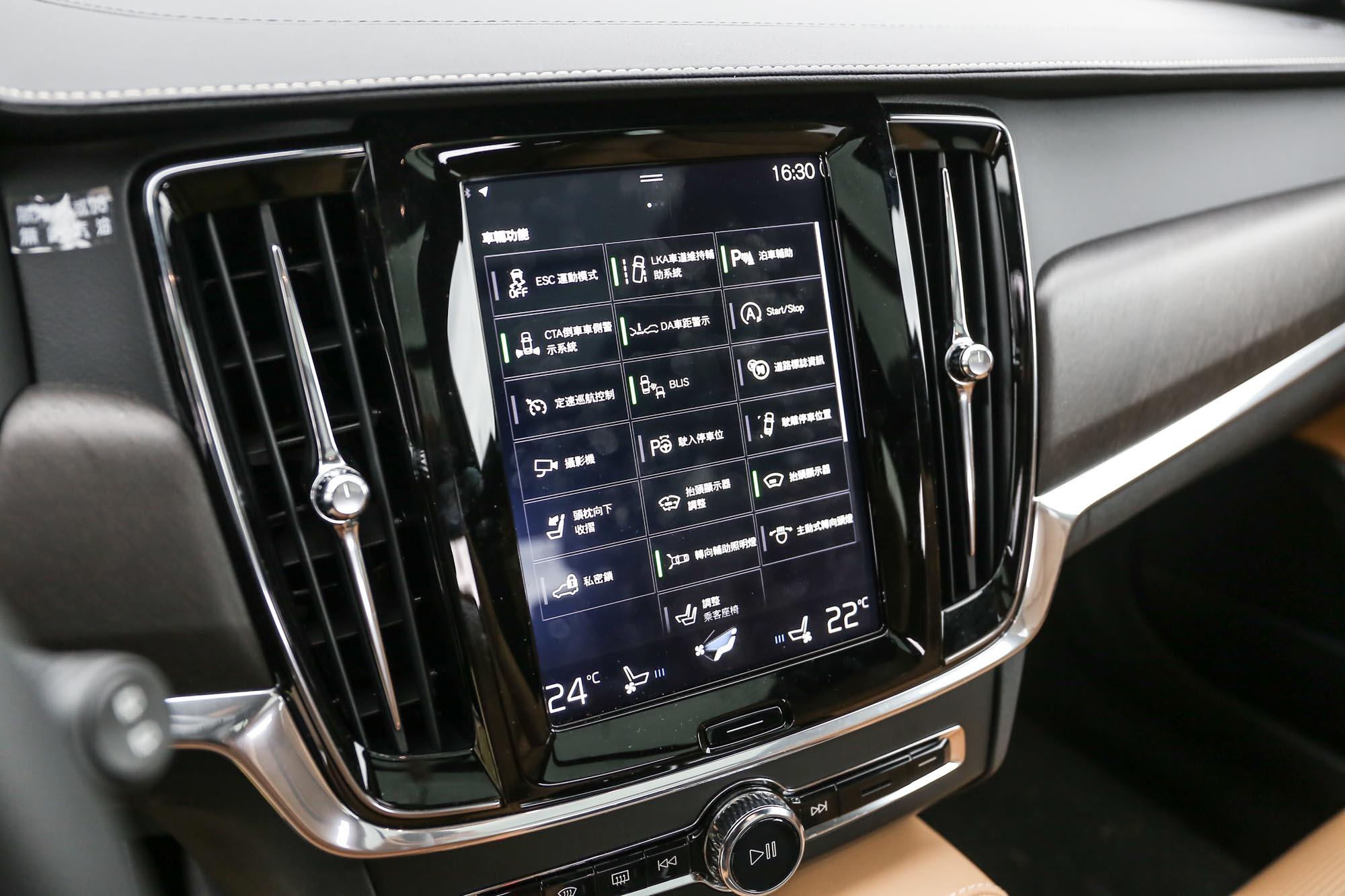 完整的主被動安全配備,也是 V90 Cross Country T6 一大市場利基。