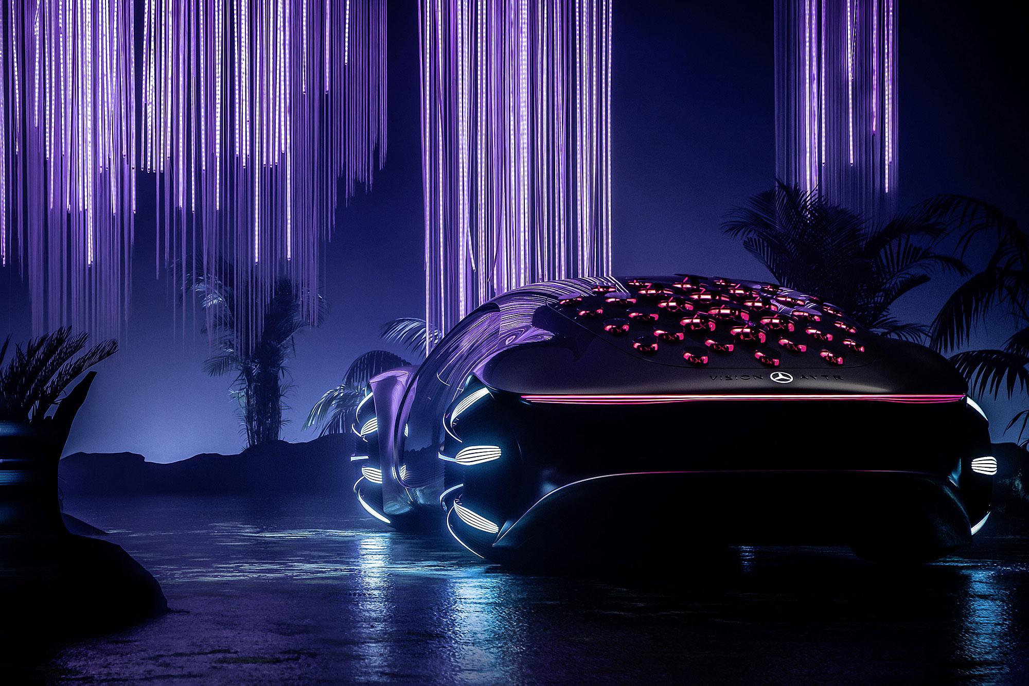 Vision AVTR 主要目的在於為《Avatar 阿凡達》電影續集暖身。