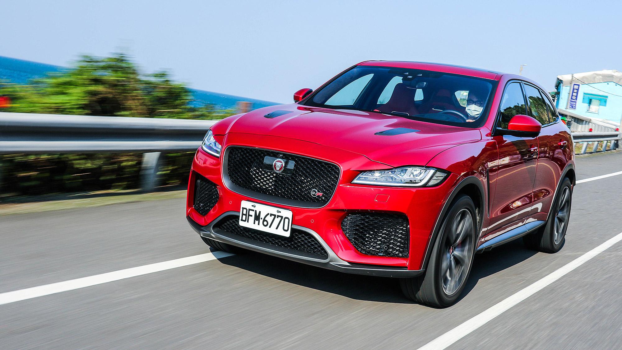 性能跑格通通 Level Up , Jaguar F-Pace SVR 不只超值更是個性滿點