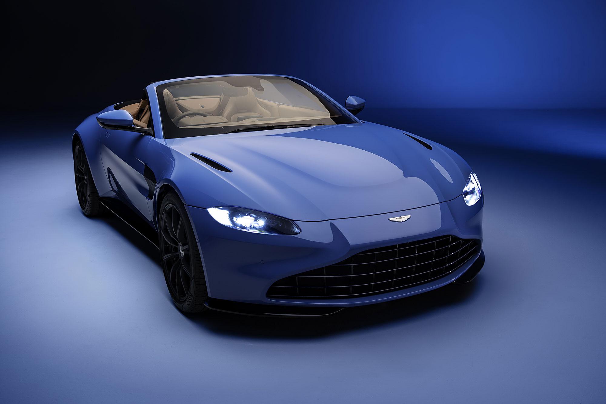 Aston Martin Vantage Roadster 預告 2020 日內瓦車展現身。