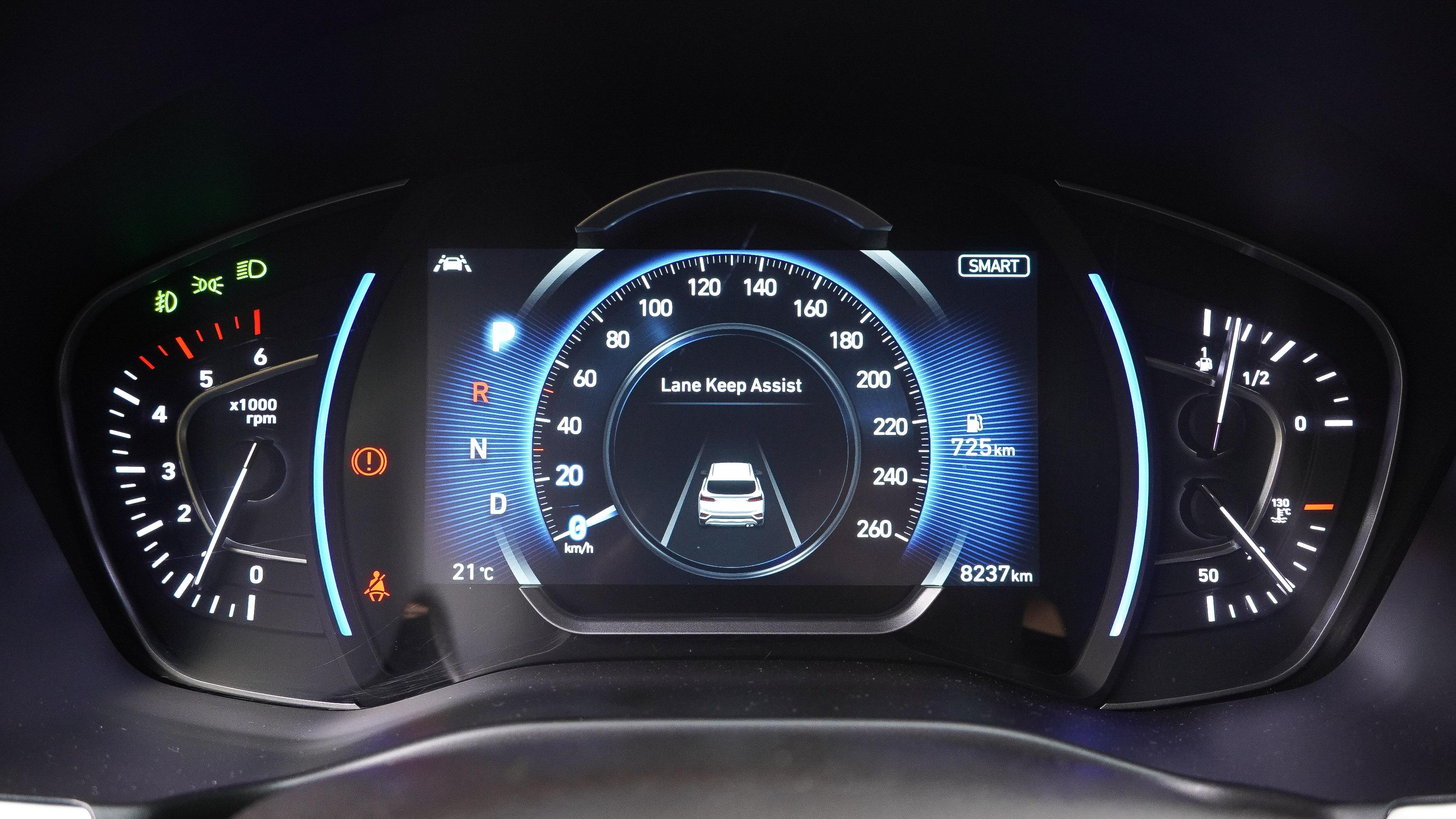 內圈可顯示 Level 2 駕駛輔助圖資。