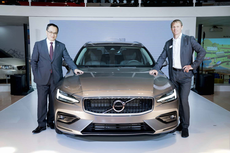 全新 Volvo V60。