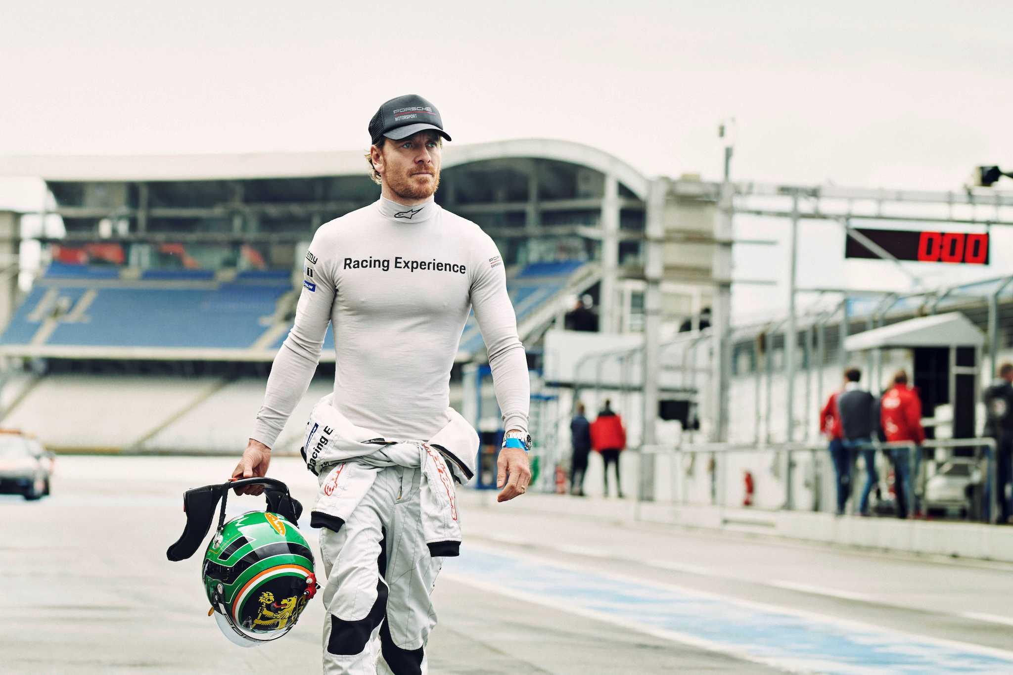 Michael Fassbender 以保時捷的駕駛體驗開啟了他的賽車生涯。
