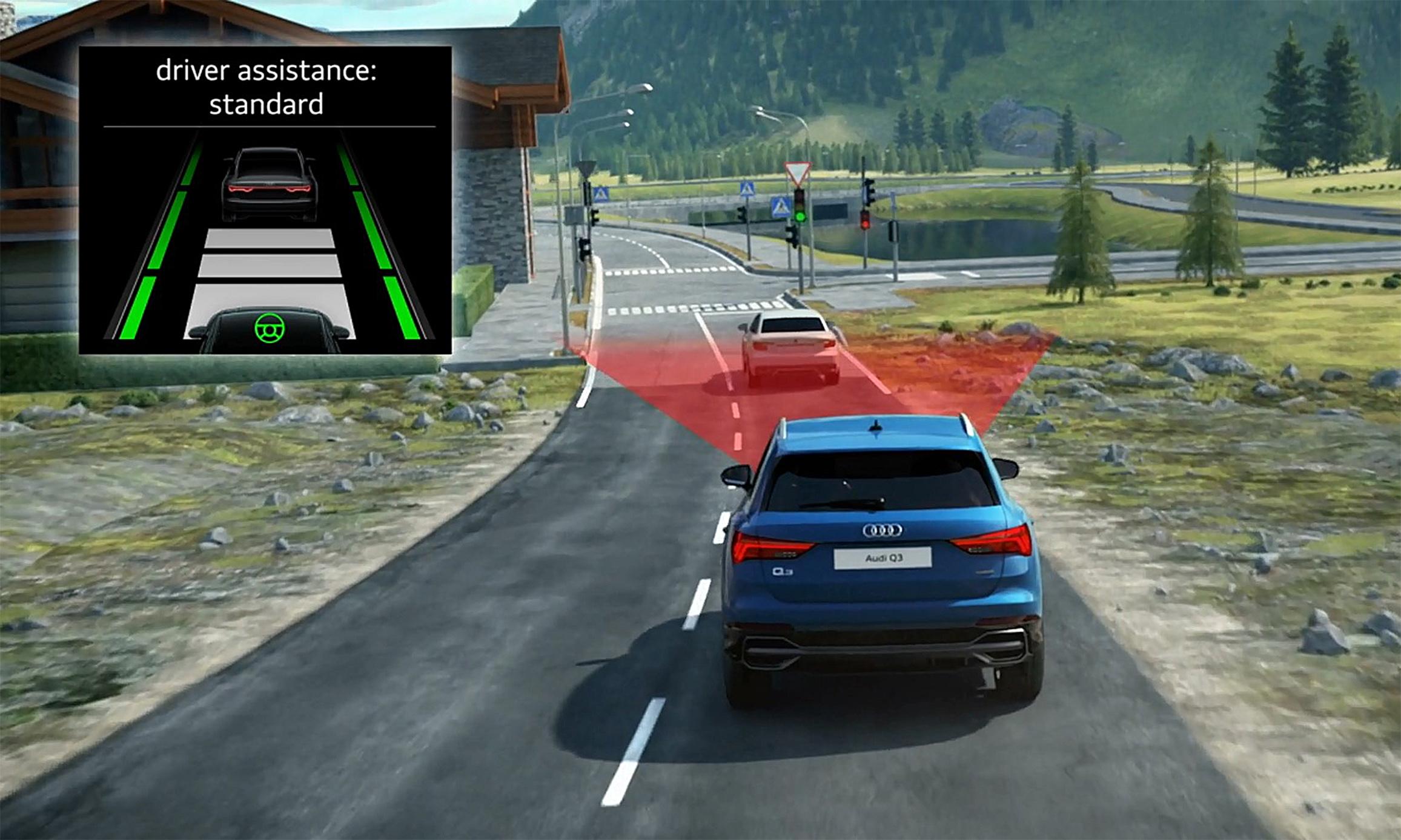 ACC 主動式定速巡航控制系統。