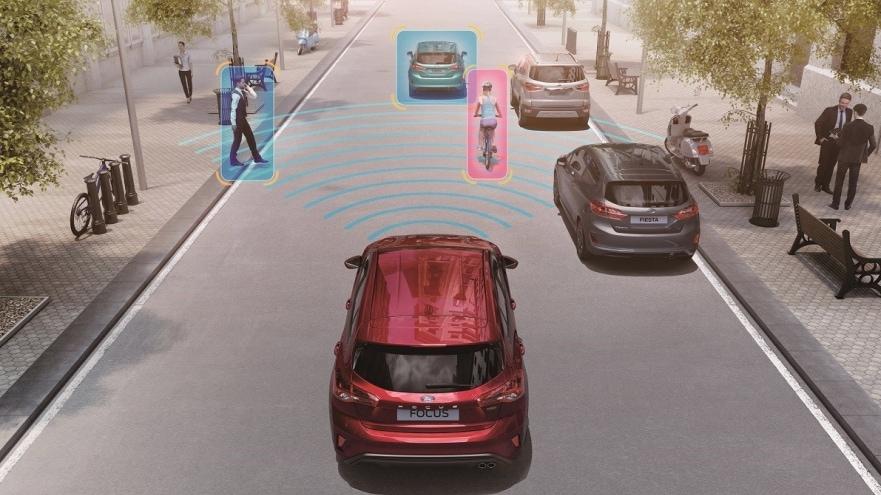 全新 Ford Focus EcoBoost 182 四門佛心版/五門時尚版全面搭載 Ford Co-Pilot360 全方位智駕科技輔助系統。