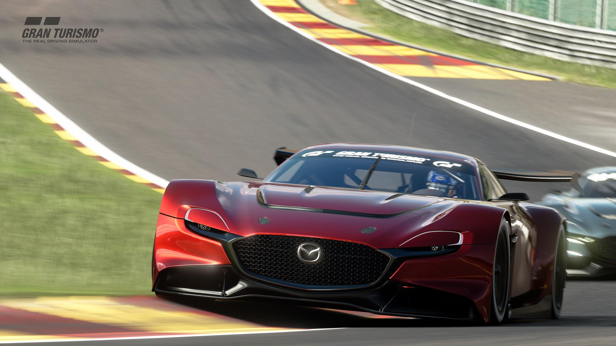 有更帥的 Mazda?RX-Vision GT3 概念跑車遊戲登場