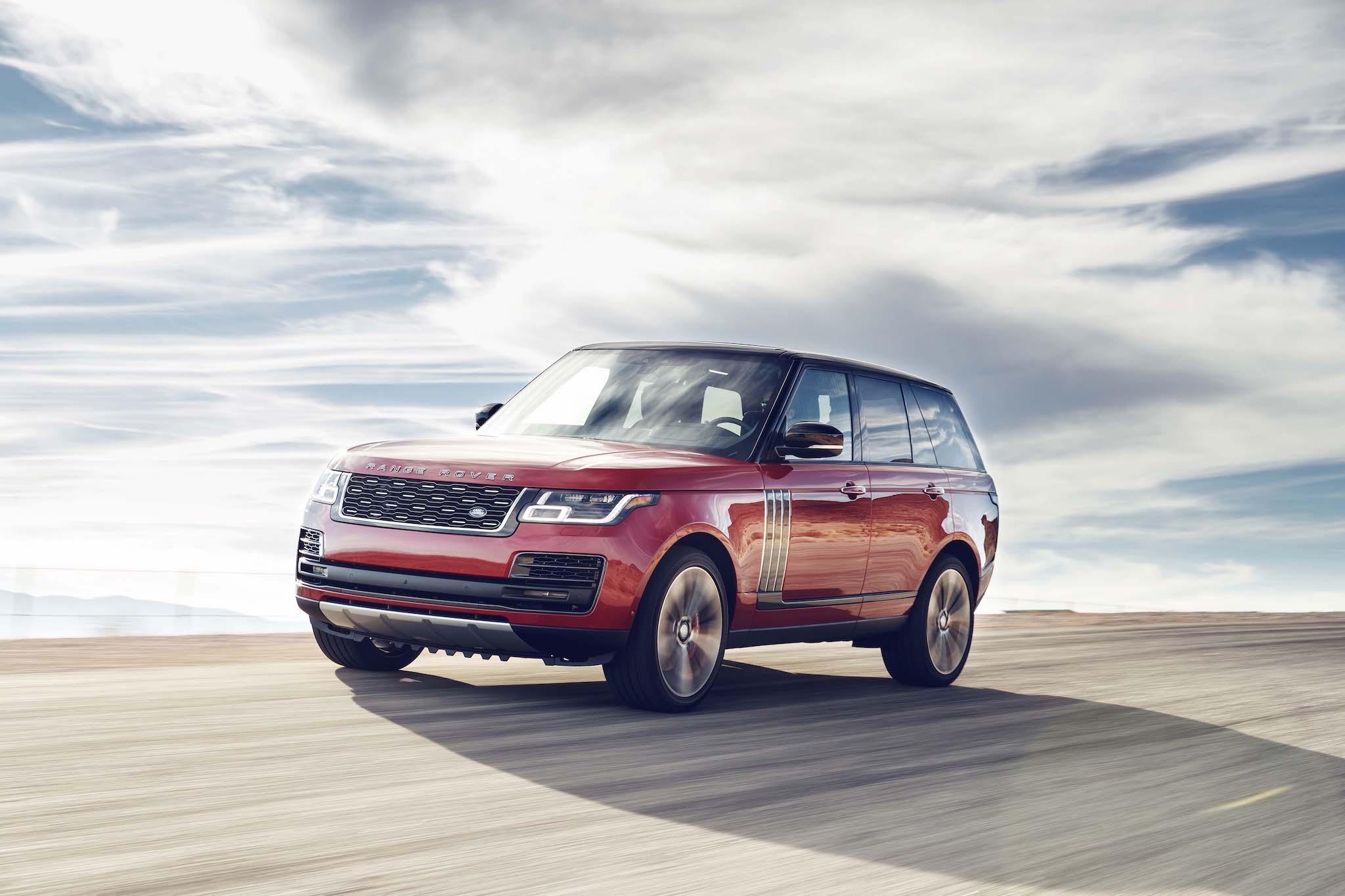 Range Rover SVAutobiography Dynamic SWB。