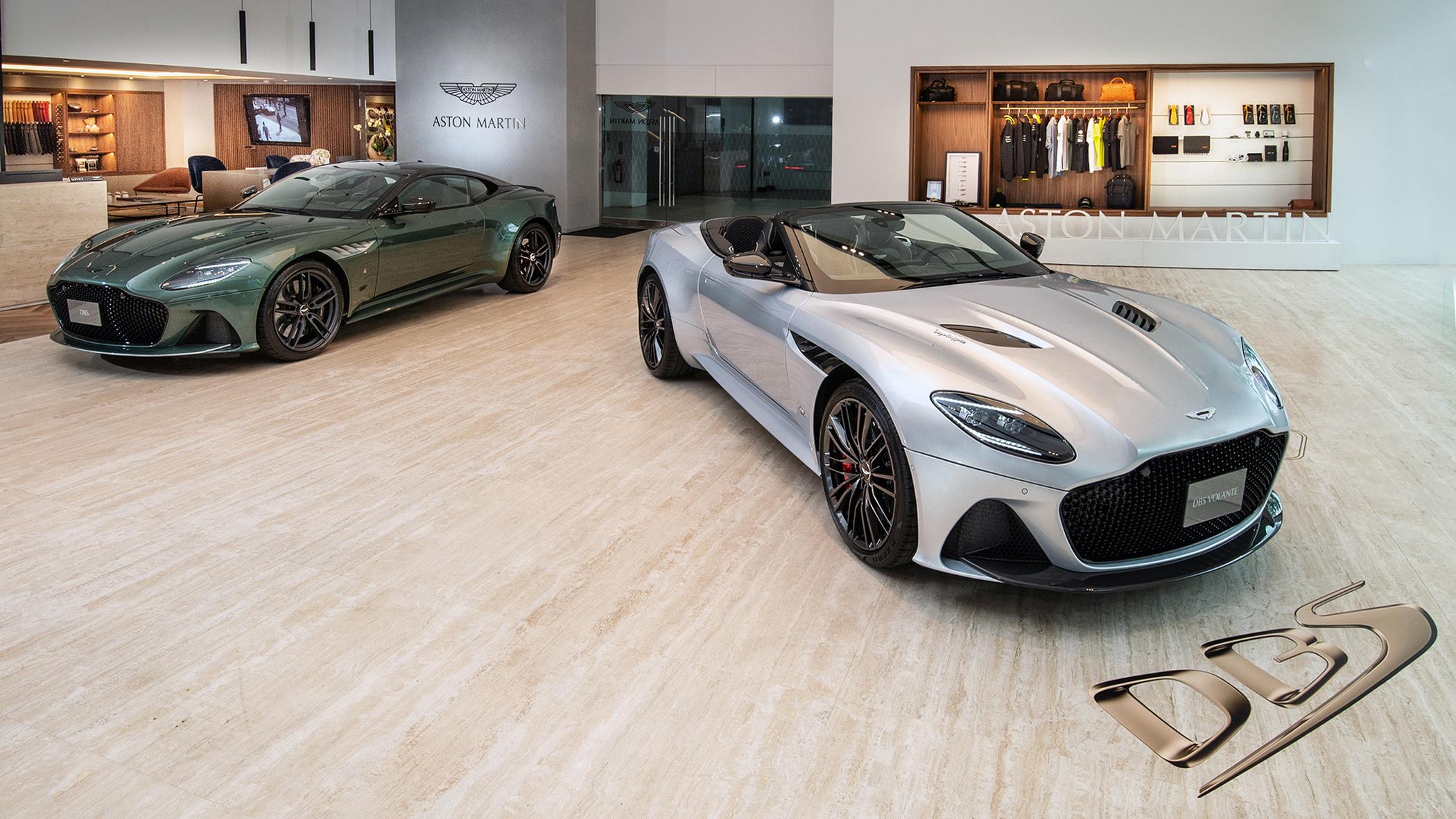 Aston Martin DBS Superleggera Volante V12 敞篷 GT 超跑 1,848 萬起抵台