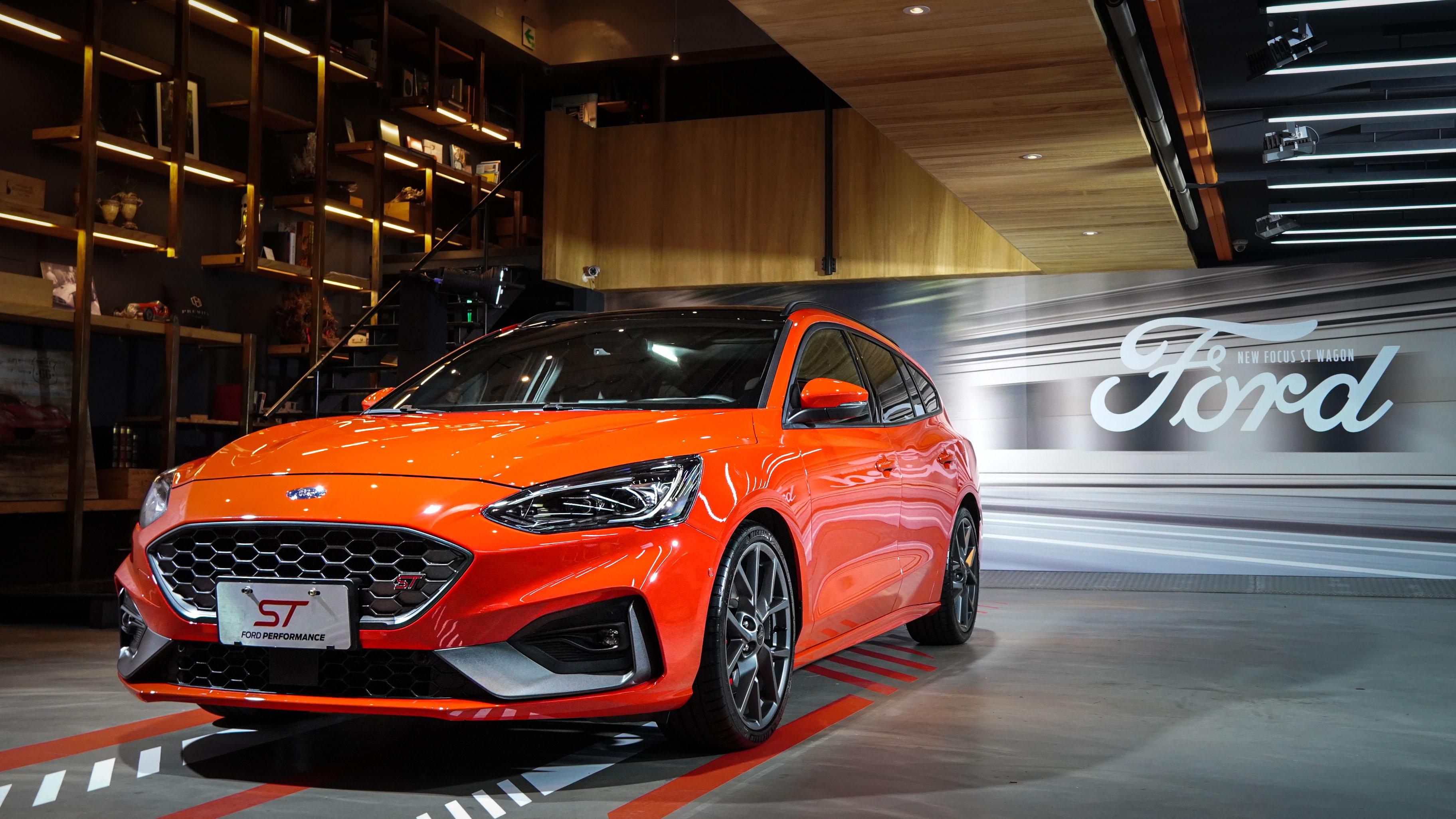 這車太強了吧!Ford Focus ST Wagon 預接單價 142.8 萬登台