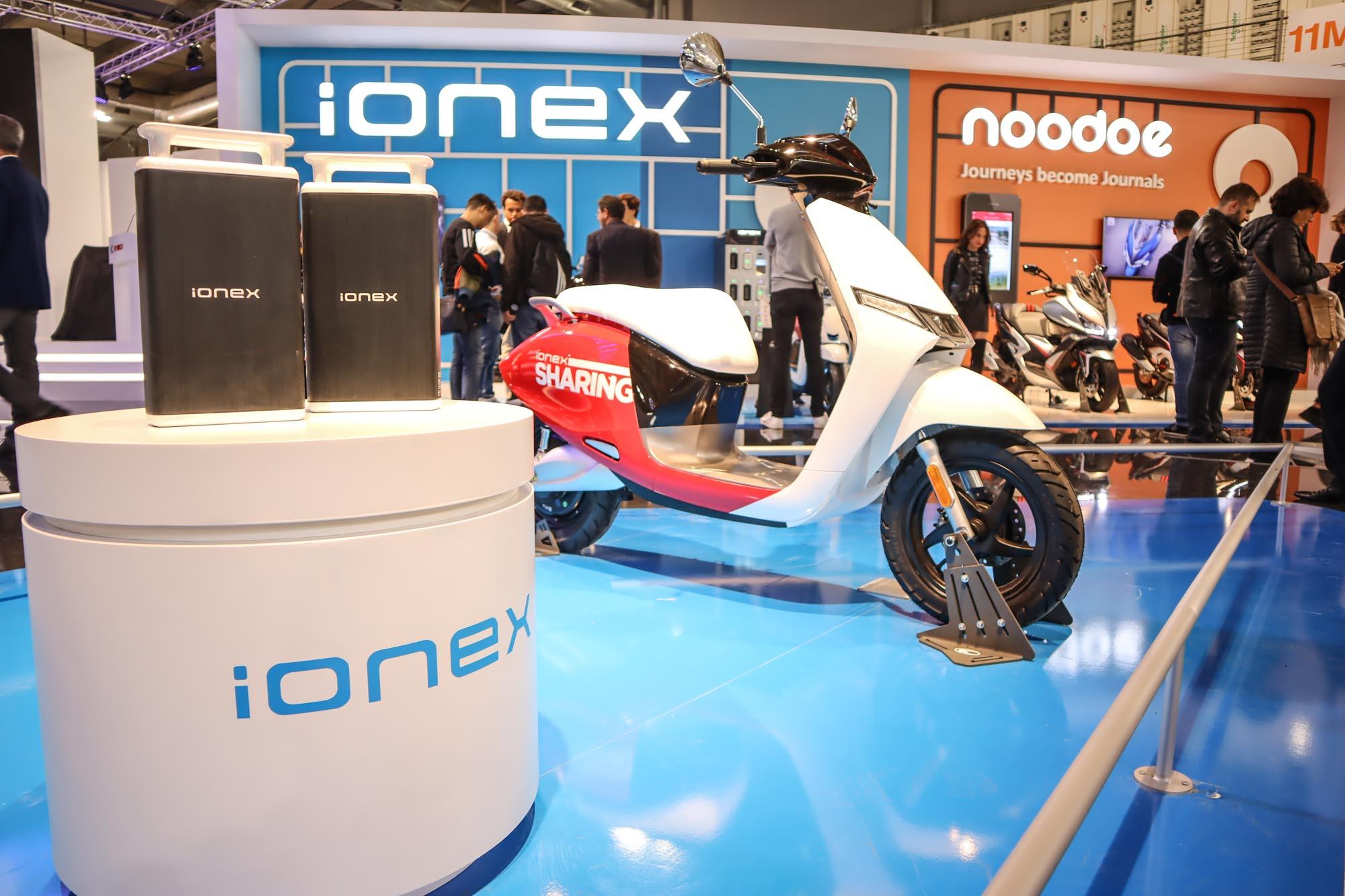 於 2019 米蘭車展上,Kymco 針對 iONEX 的展出能量也精心安排,期望讓全球看見自己於電動領域的努力與現階段成果。