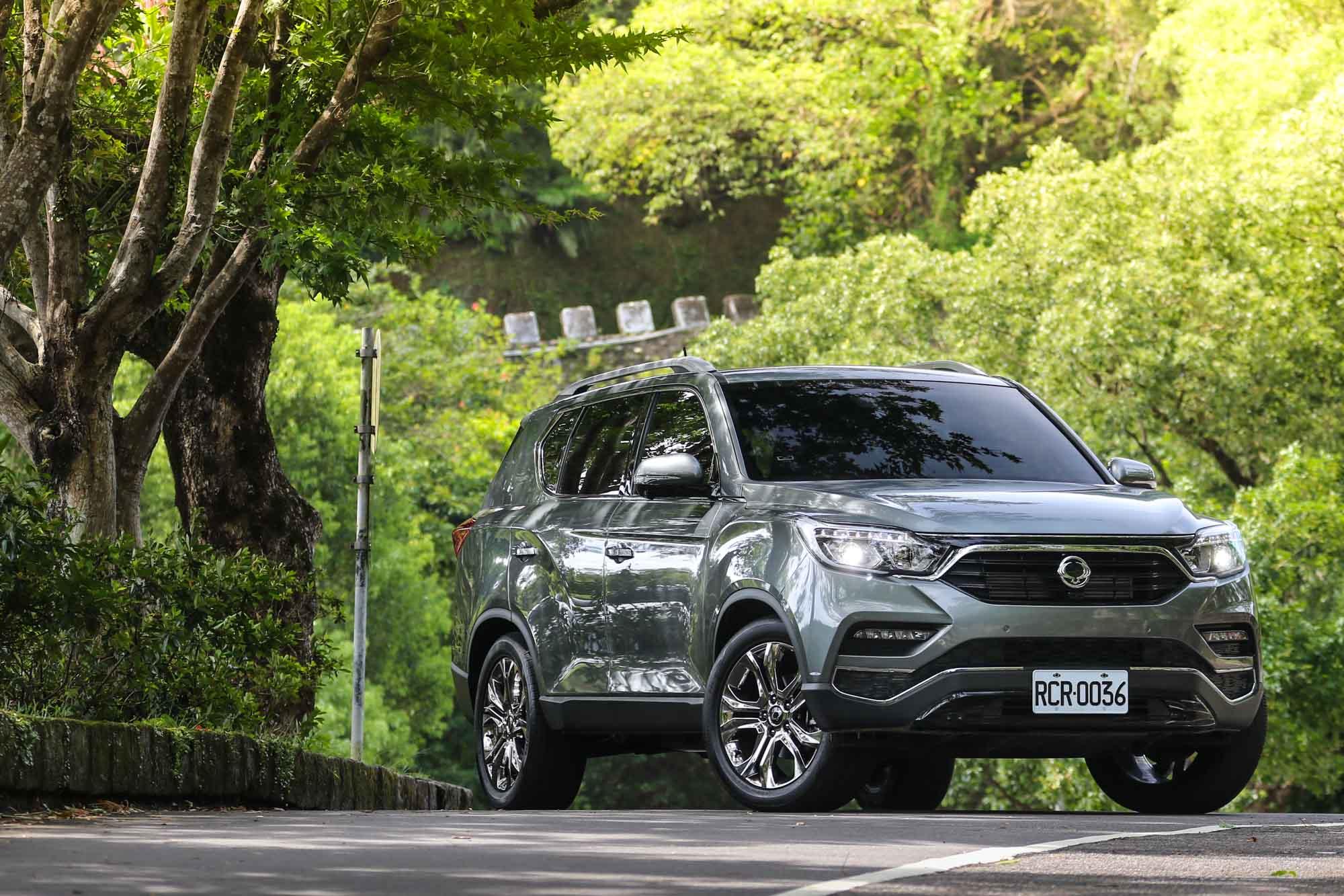 SsangYong Rexton 只有單一車型設定,售價為 186.8 萬元。