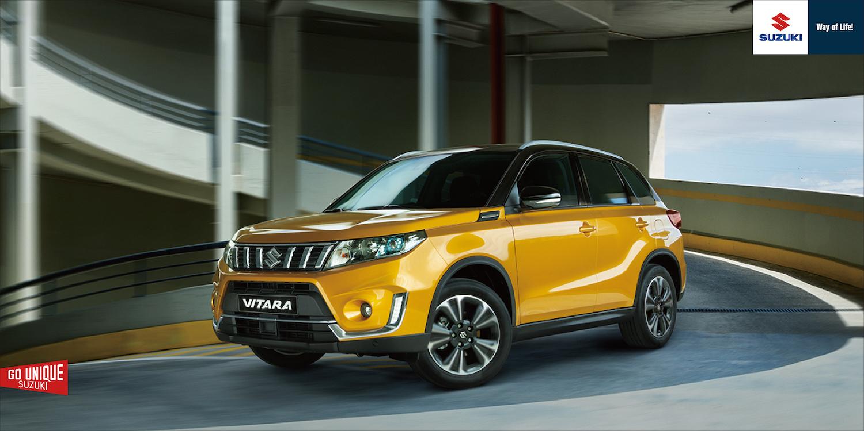 安全加好加滿!Suzuki Vitara 小改款 77 萬上市