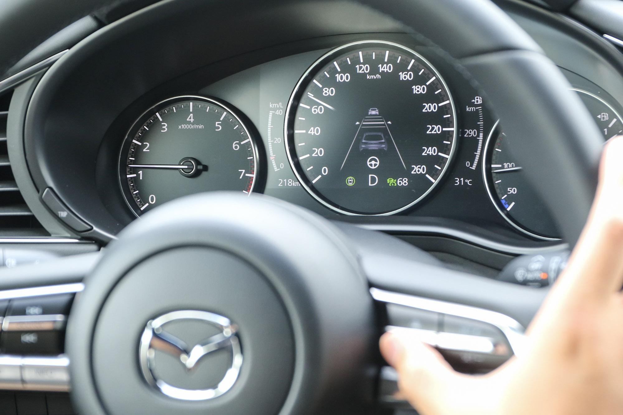 全速域的作動範圍,對於長距離行駛時確實能大幅降低駕駛的精神負擔。