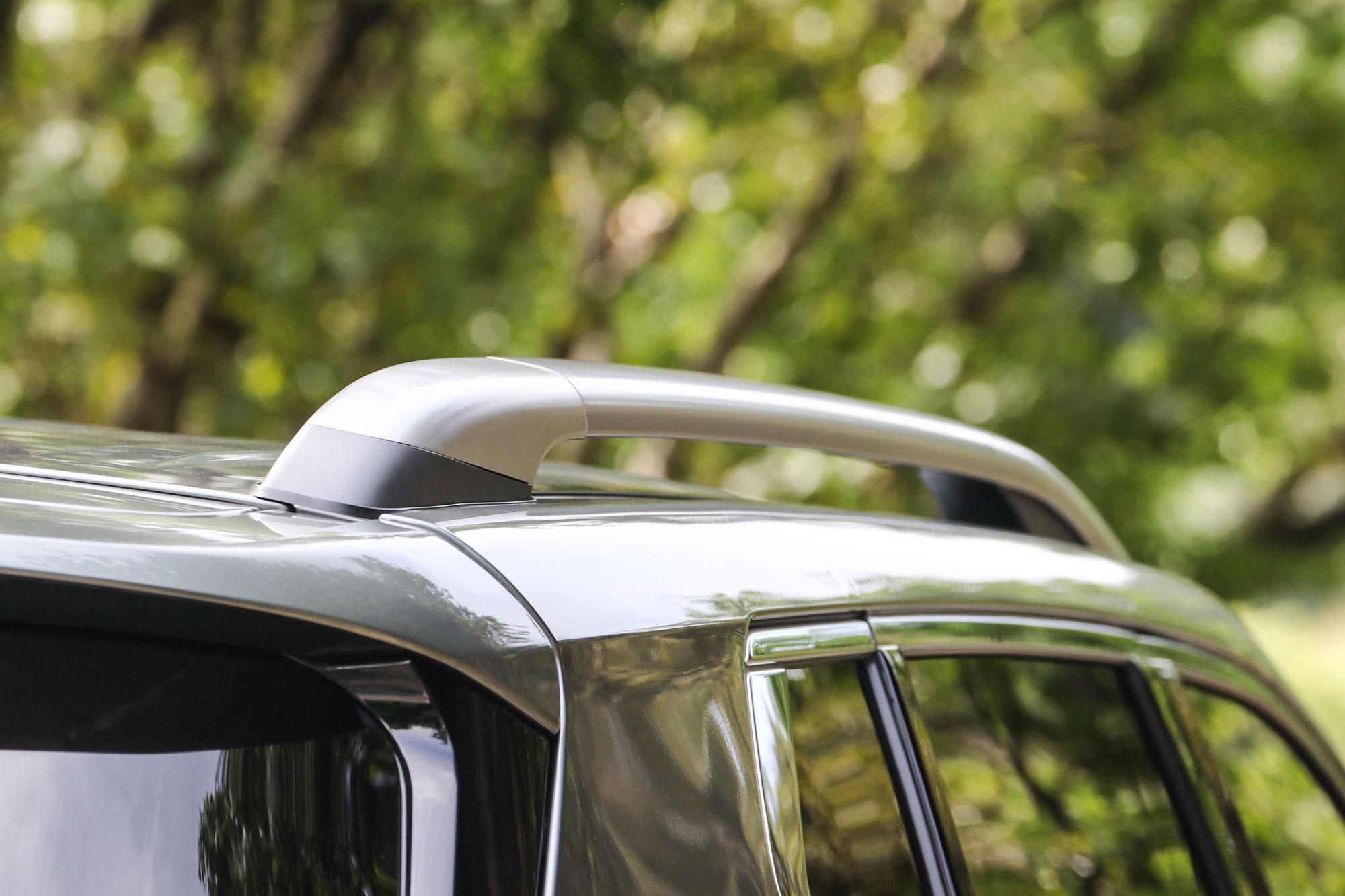 粗壯的車頂架,讓車頂加掛物品更為簡單與多元。
