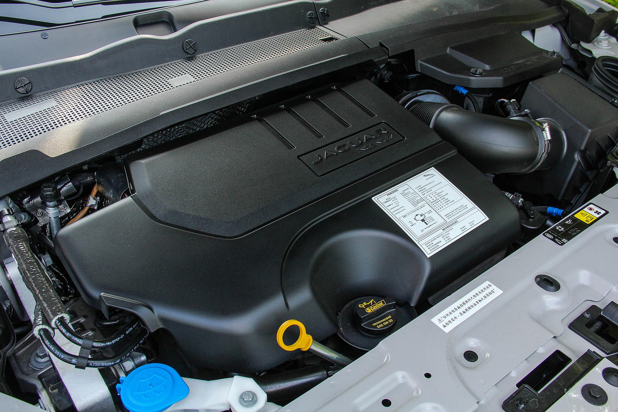 全新導入的 P200 汽油動力,取代原先的柴油動力車型。