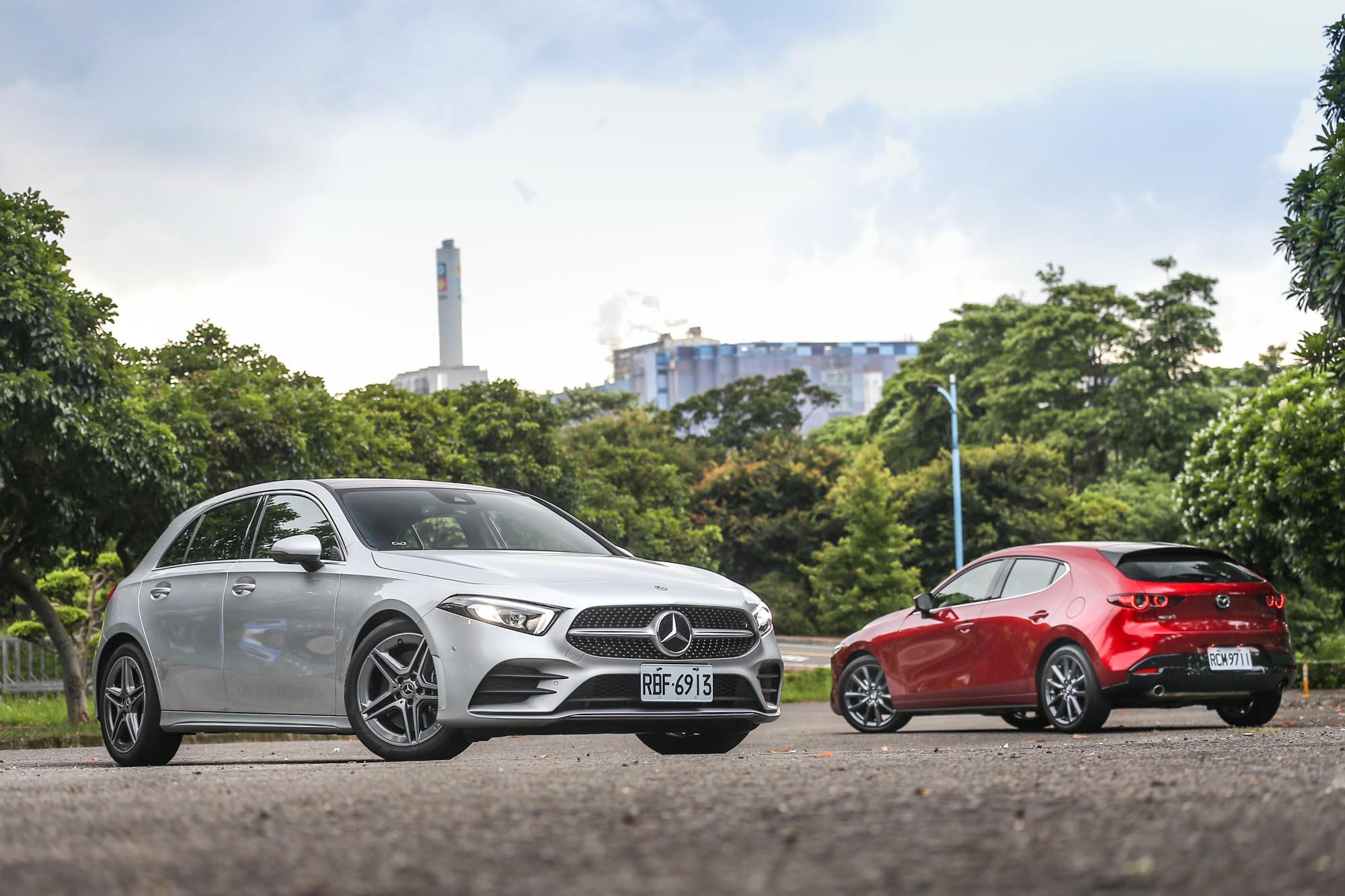 不對等的戰役!Mazda3 對上M-Benz A250 的贏面在哪裡?