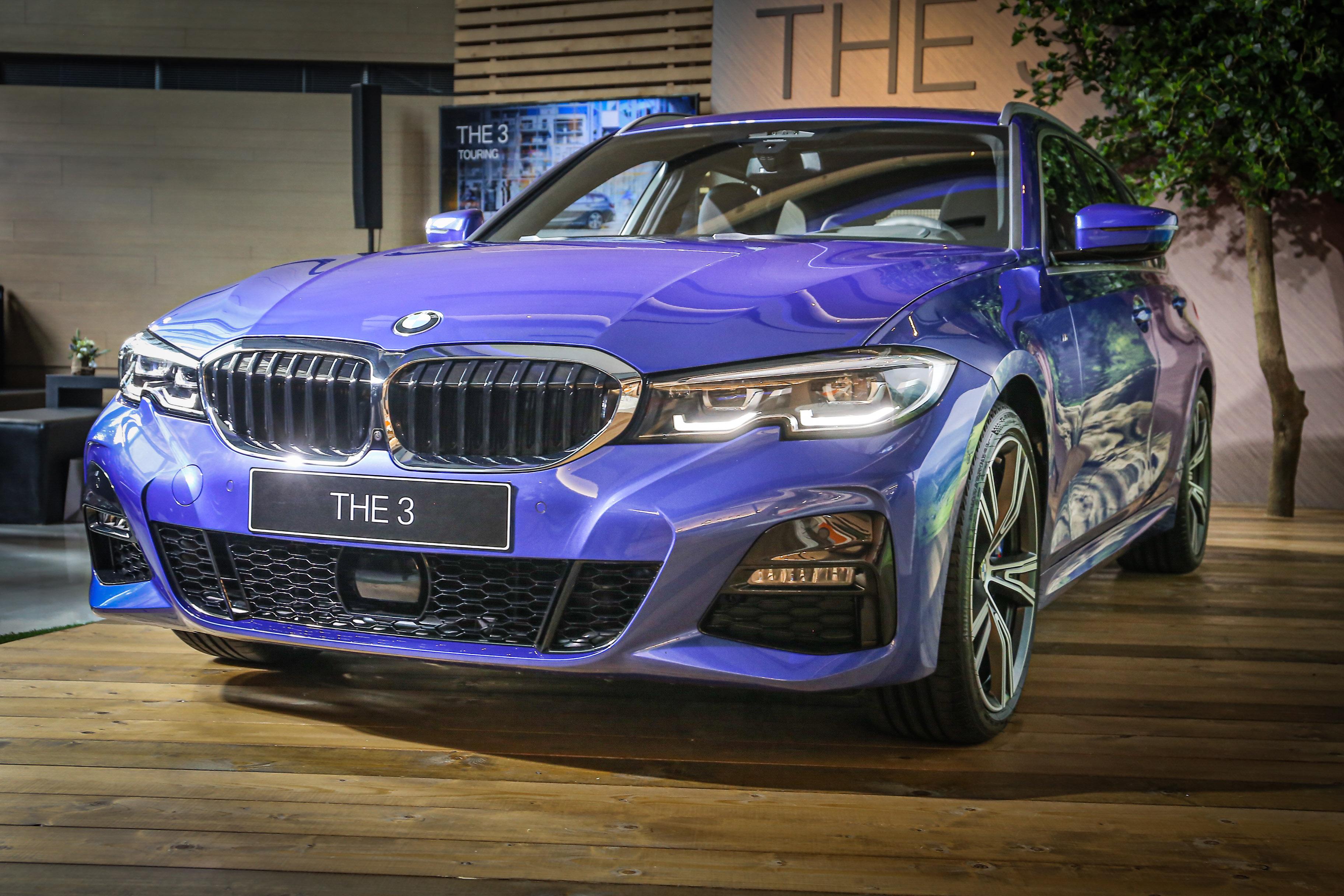 全新 3 Series Touring 擁有 50:50 配重,車身鋼性增加 25%。
