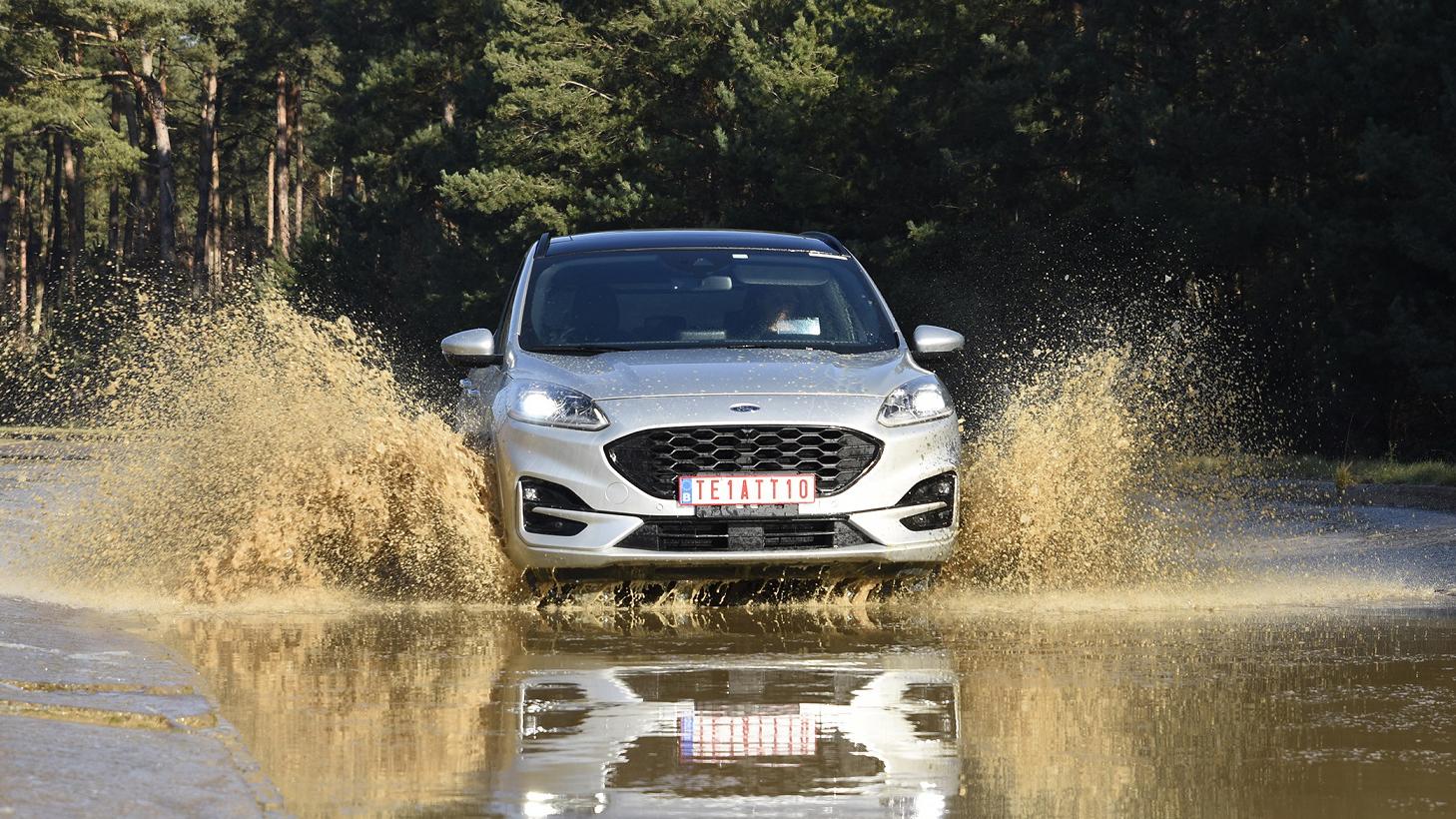 【影】來看全新國產 Ford Kuga 赴比利時受 Lommel 終極考驗!