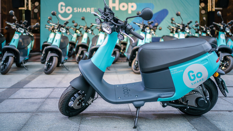 GoShare® 登陸北市,年底前投放 3,000 台 Gogoro VIVA