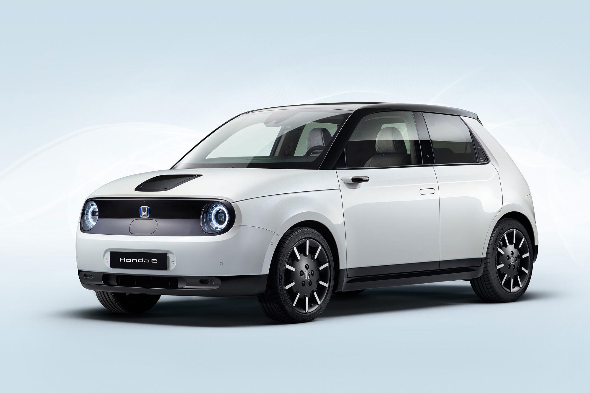 Honda e 量產版本設定在法蘭克福車展發表。