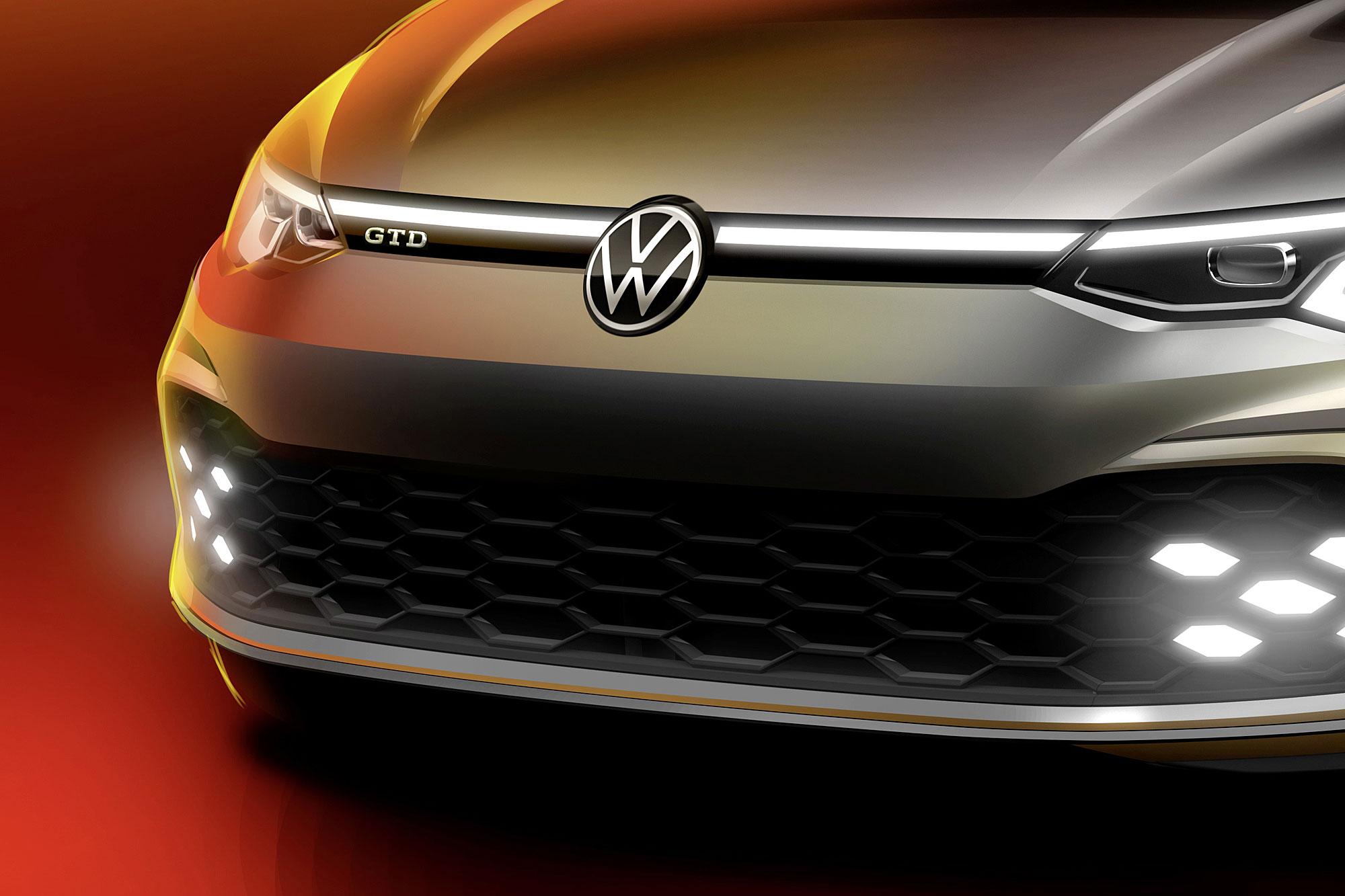 新一代 Volkswagen Golf GTD 預計日內瓦車展發表現身。