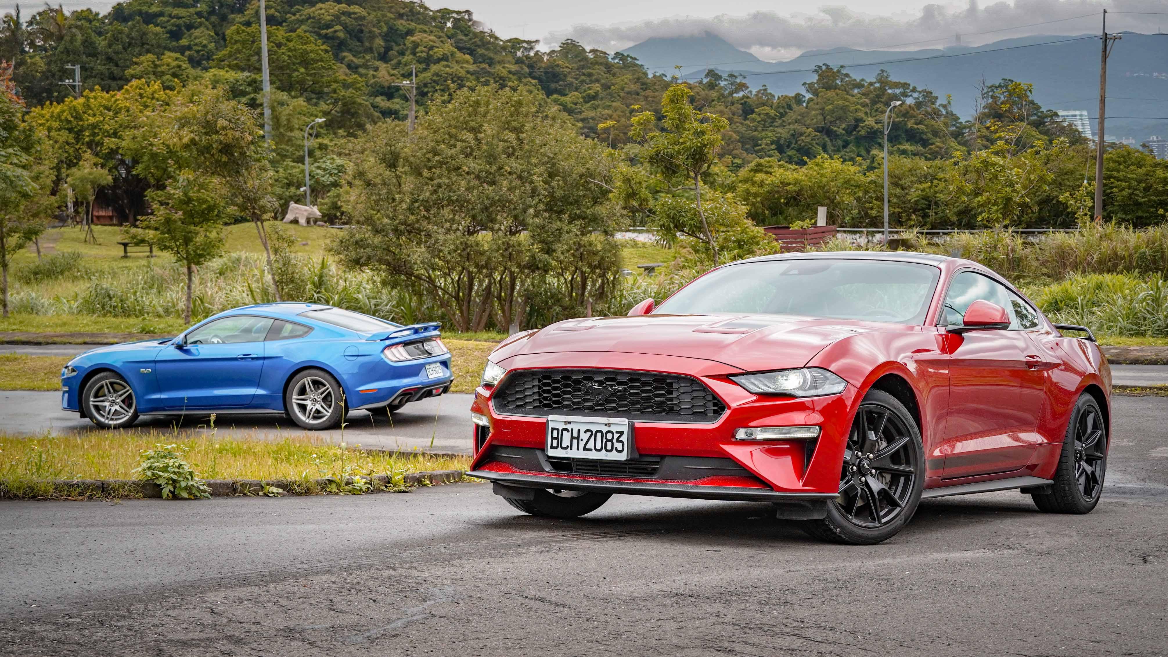 哥買的是傳奇,Ford Mustang