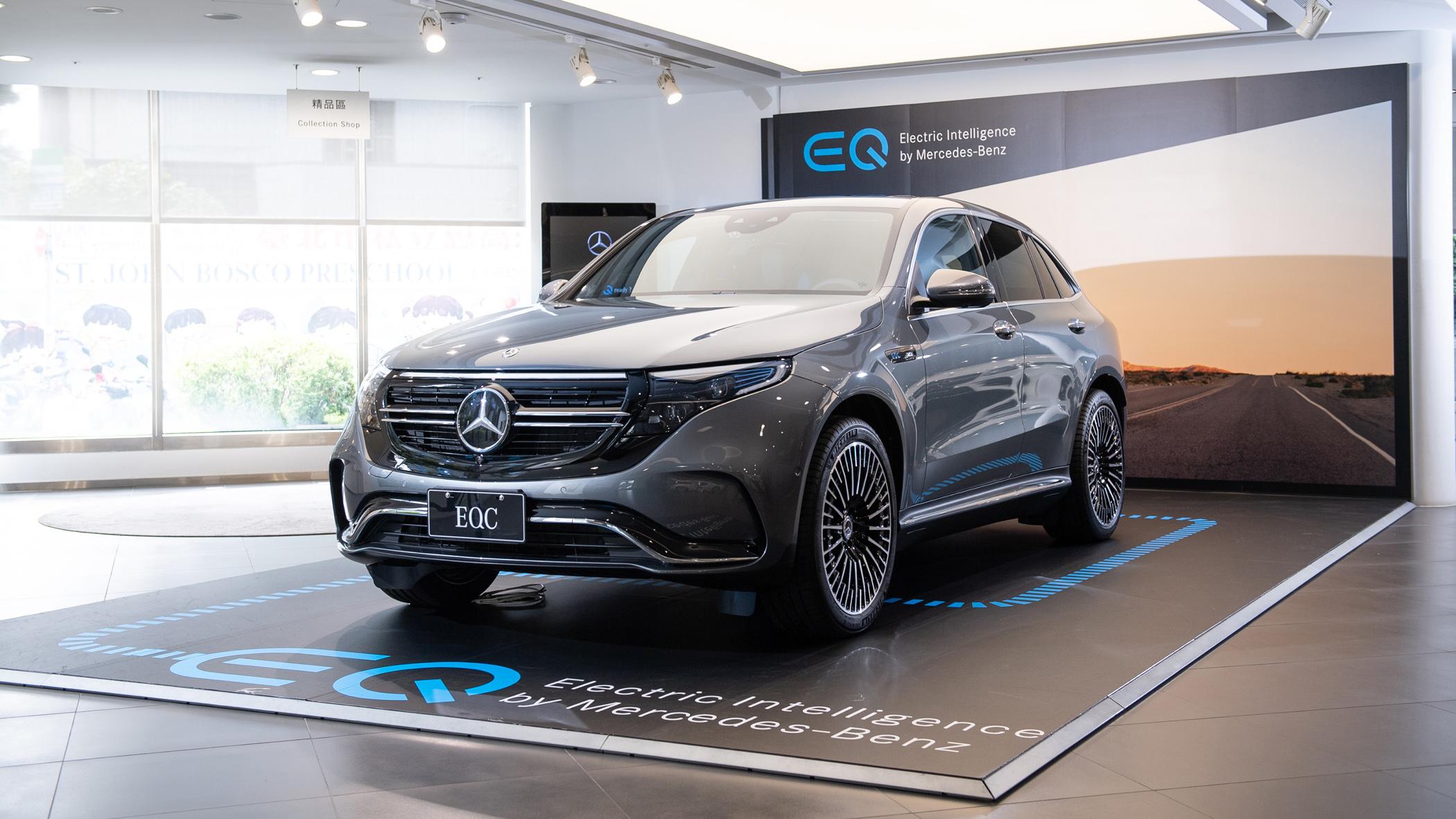 Mercedes-Benz 首款純電休旅 EQC 330 萬起正式進駐展間,多元購車方案這裡看!