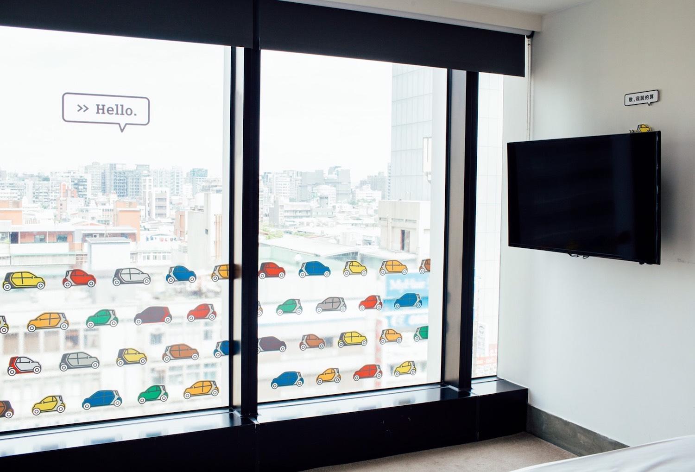 玻璃窗的各色 smart。