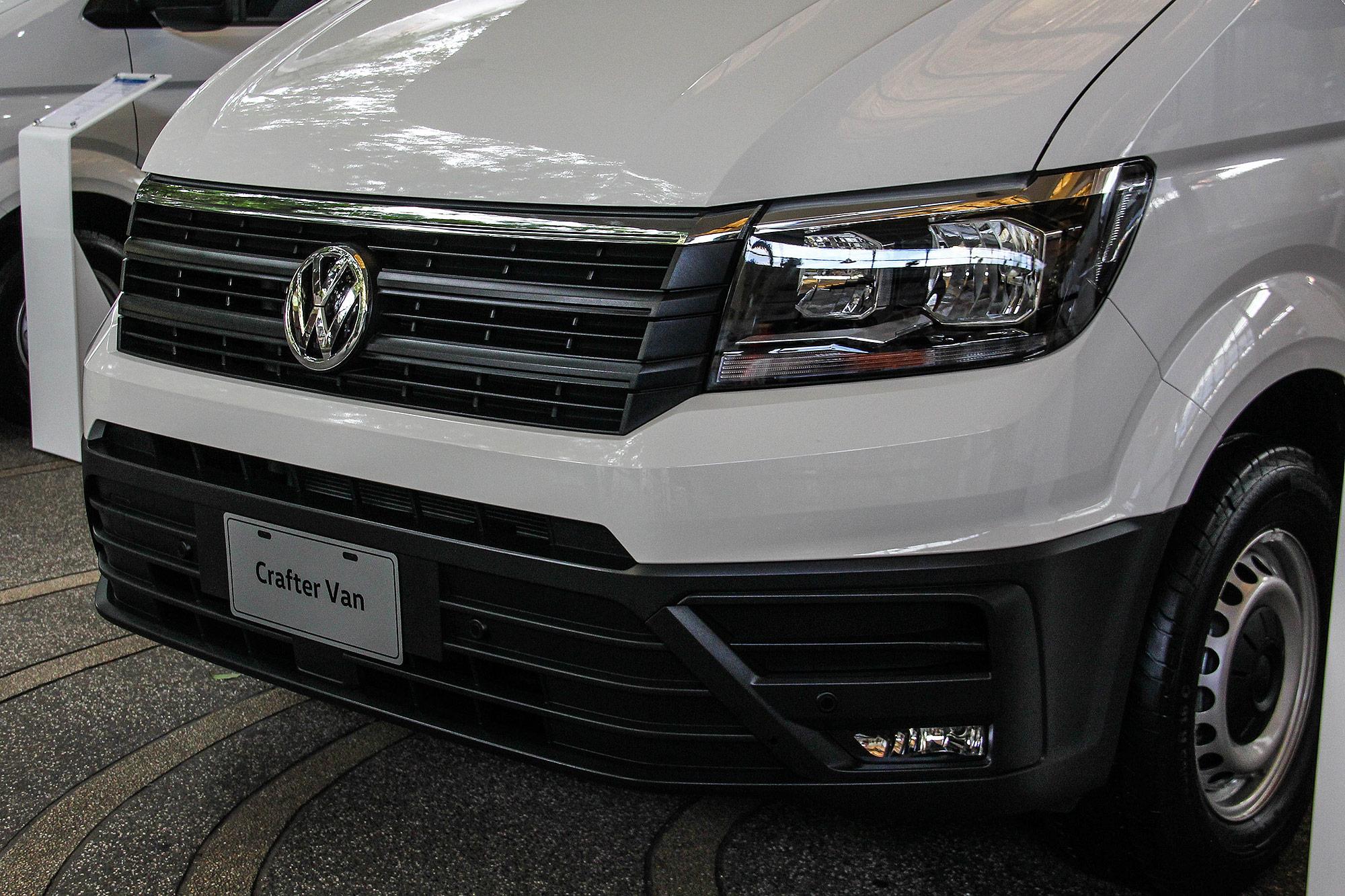 新世代 Crafter 改以 Crafter Van 廂式貨車為主力。